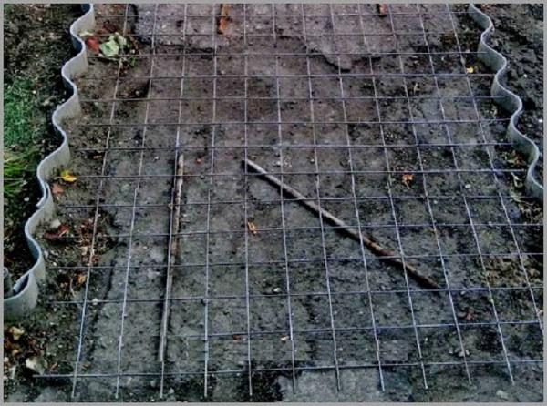 пропорции бетона для садовых дорожек