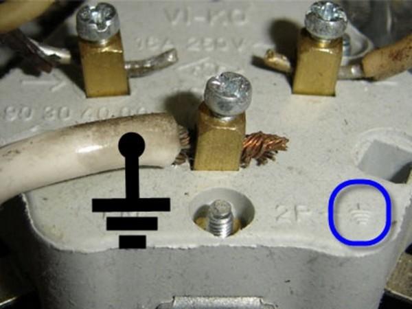 как подключить заземление на даче фото