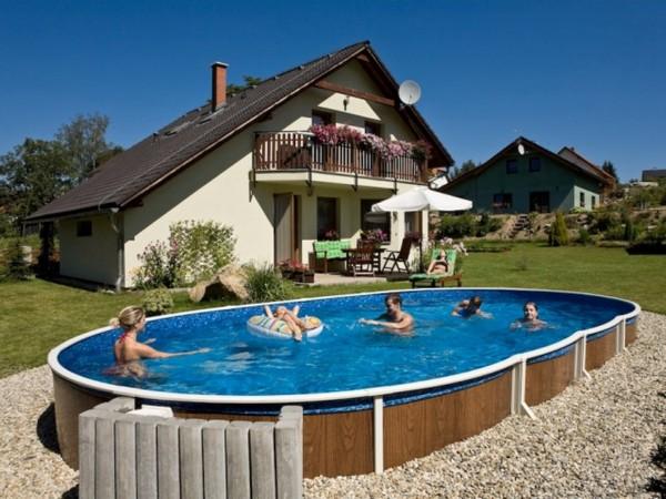 как выбрать бассейн для дачи фото