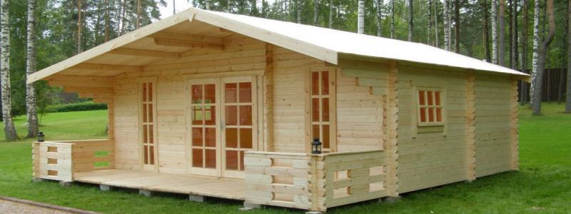 Каркасный дачный домик своими руками: проще не бывает