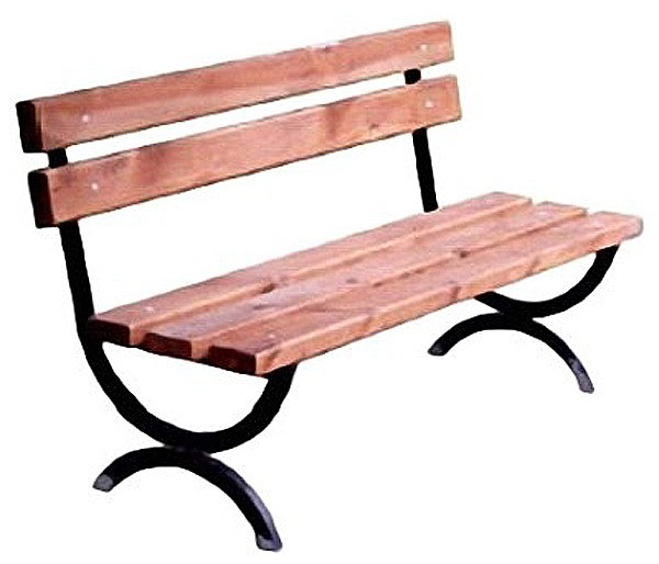 скамейки для дачи своими руками из металла фото
