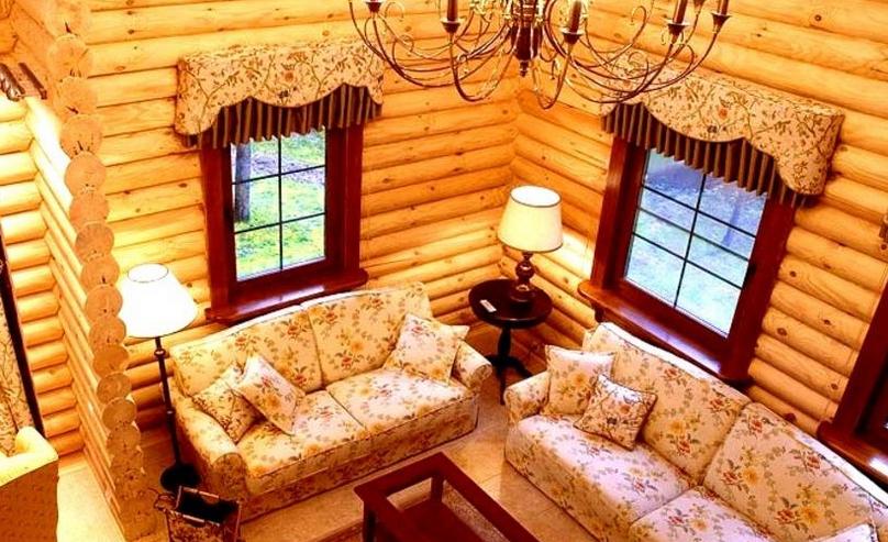 как выполнить внутреннюю отделку дачного дома
