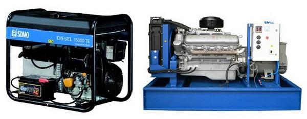 генератор дизельный для дачи фото