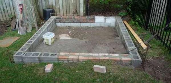 как самому построить сарай на даче фото