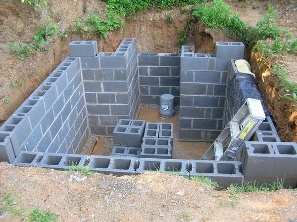 как построить погреб на даче фото