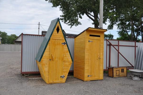 строительство дачного туалета с выгребной ямой фото