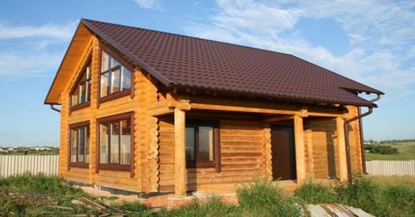 дачный деревянный дом своими руками фото