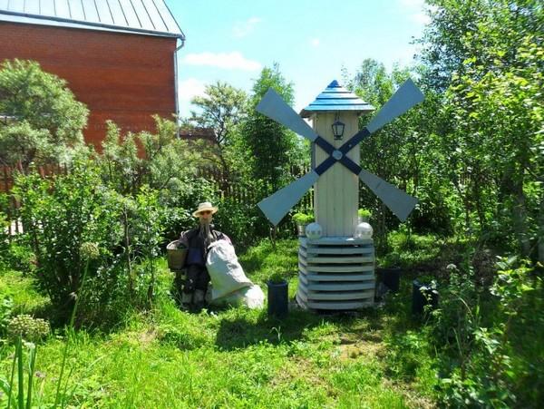 декоративная мельница своими руками фото