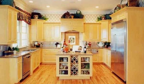 интерьер кухни на даче фото