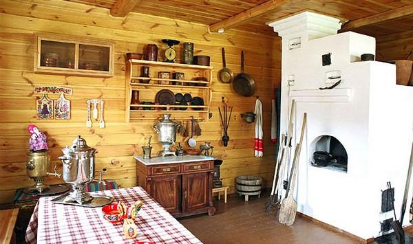 как сделать кухню на даче фото
