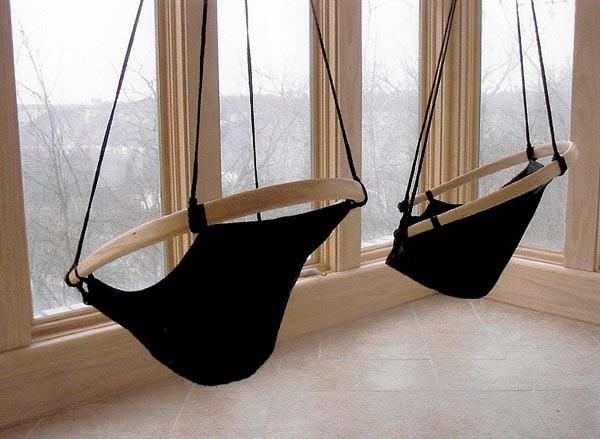как сделать подвесное кресло фото