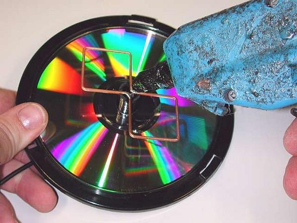 как установить антенну на даче своими руками фото