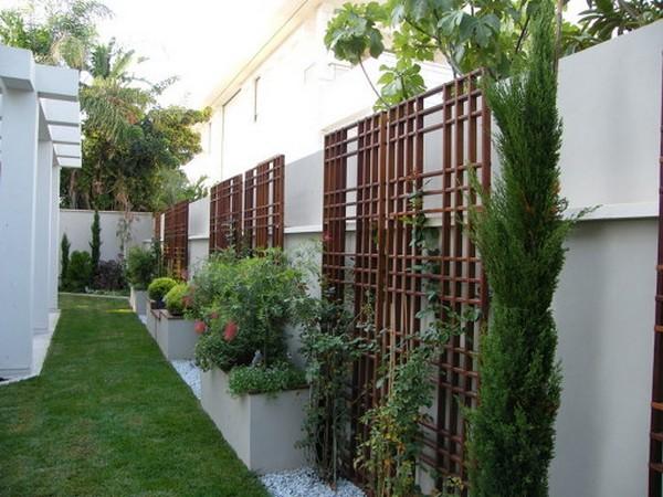 красивые опоры для вьющихся растений фото
