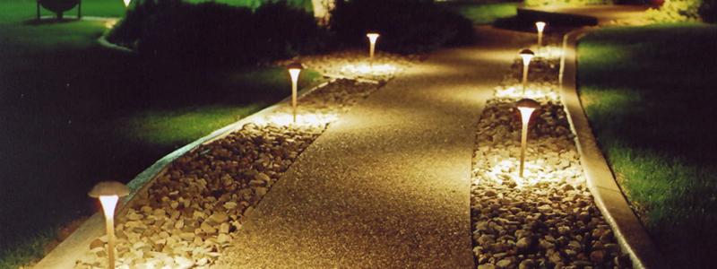 Садовые светильники: разновидности и их особенности
