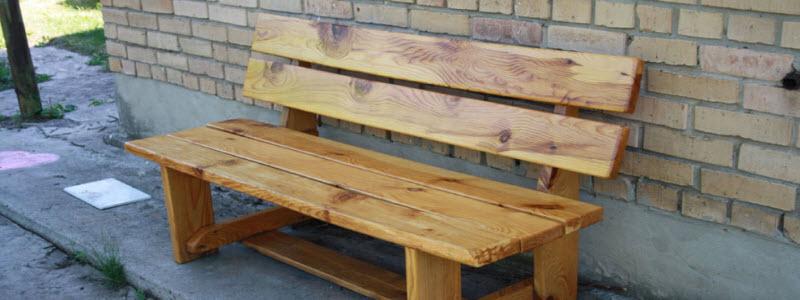 Скамейка из дерева своими руками: варианты и самостоятельное изготовление