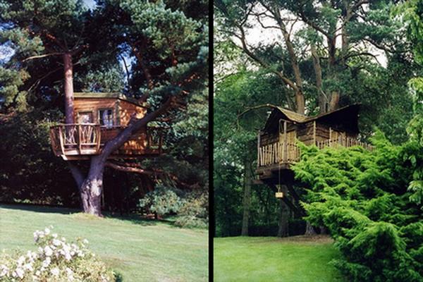 домик на дереве своими руками фото