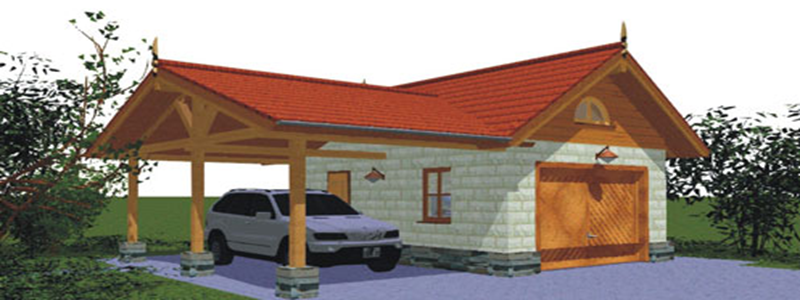 Гараж на даче: какой и как построить