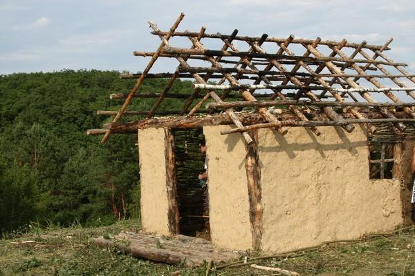 каркасные дома из соломы и глины фото