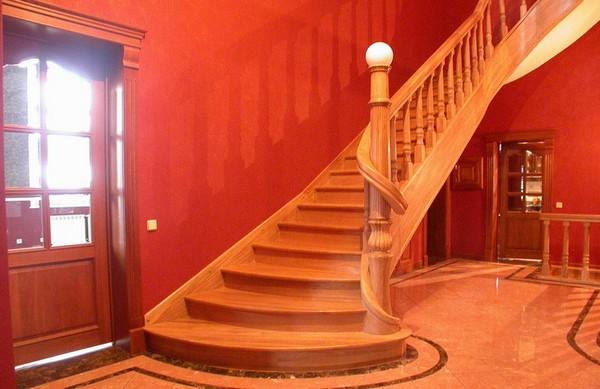 лестницы для второго этажа на даче фото