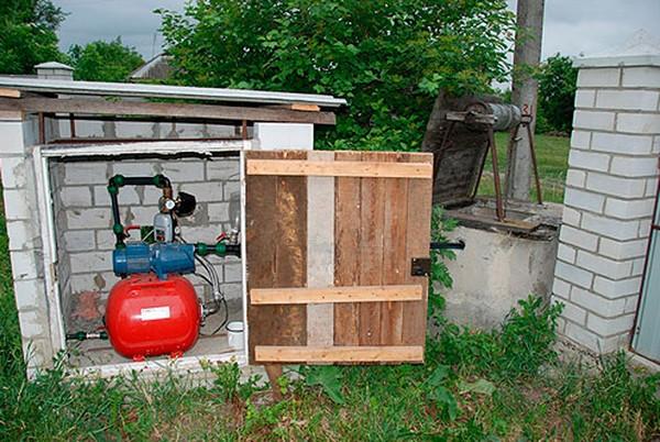 подключение водопровода на даче фото