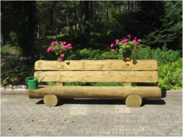 простая скамейка своими руками из дерева фото