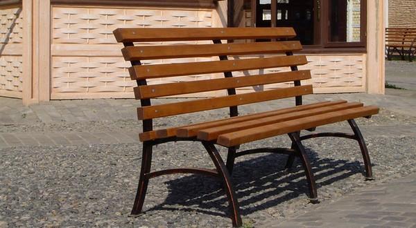 садовые скамейки из дерева своими руками фото