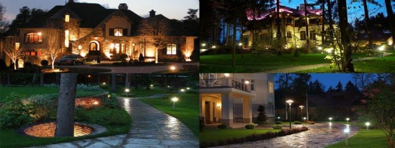 Ландшафтное освещение: принципы самостоятельного изготовления