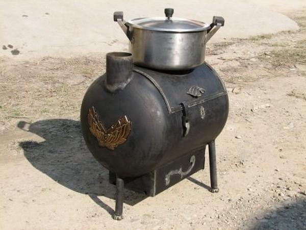 печь садовая металлическая фото