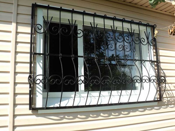 съемные решетки на окна для дачи фото