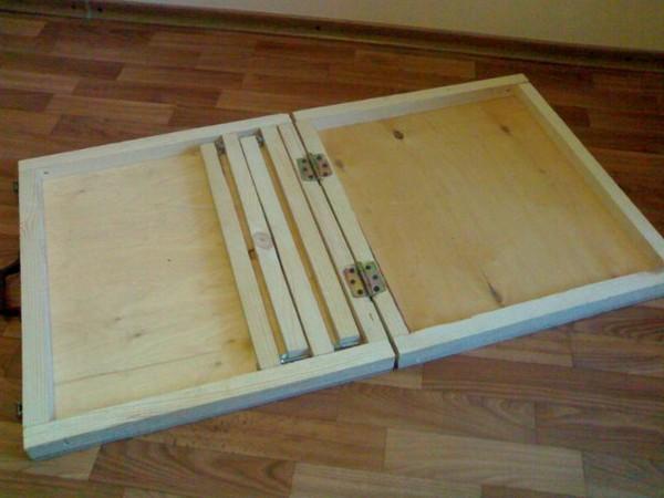 складной стол для пикника своими руками фото
