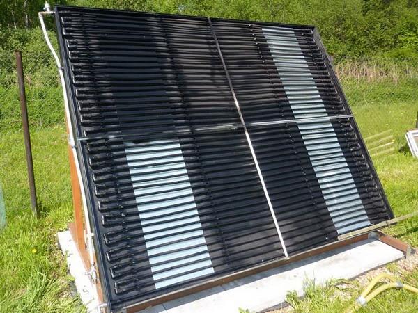 солнечные коллекторы для нагрева воды    фото