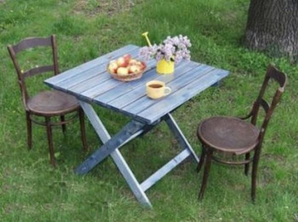 стол для пикника раскладной своими руками фото