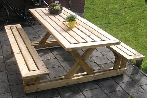 стол и стулья для пикника фото