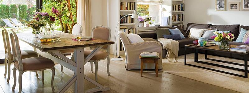 Интерьер дачного дома: традиционные стили оформления