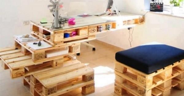 как сделать мебель из поддонов своими руками фото