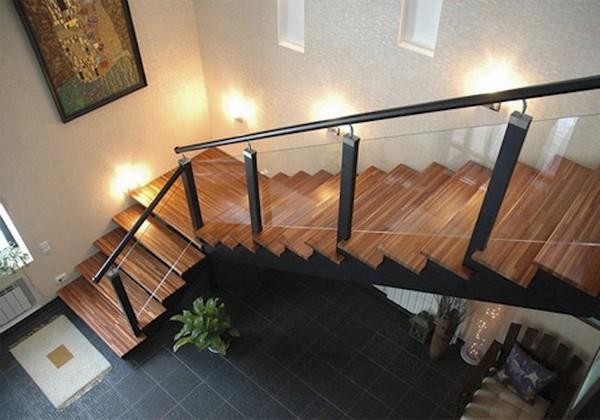 лестница для дачи металлическая фото