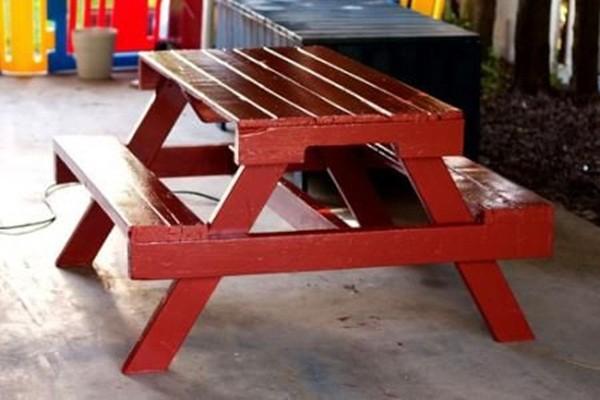 мебель для дачи из поддонов своими руками фото