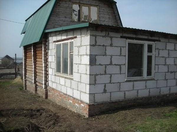 пристройка к деревянному дому своими руками фото