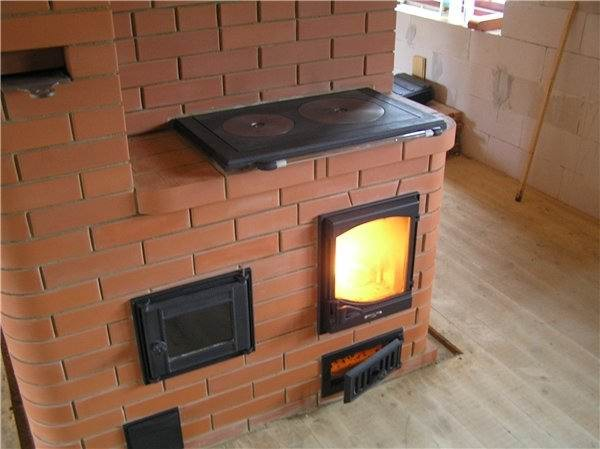 простейшее отопление на даче фото