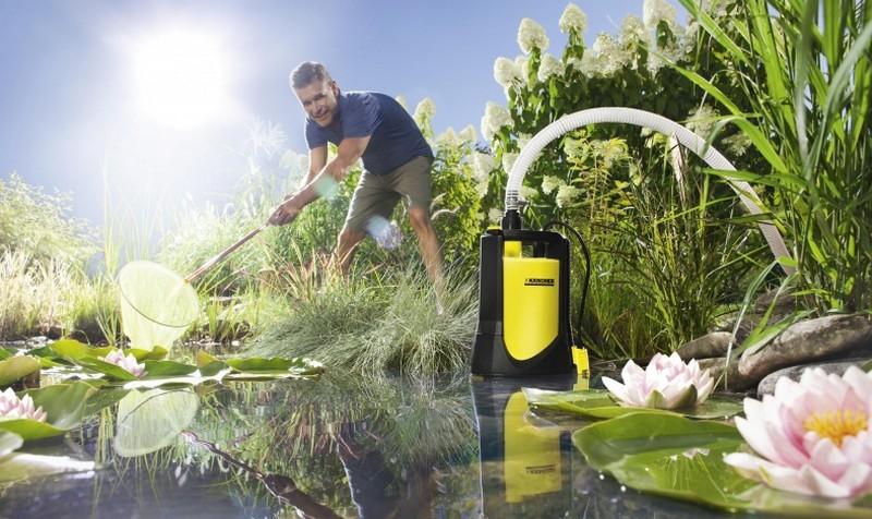 дренажный насос для грязной воды фото