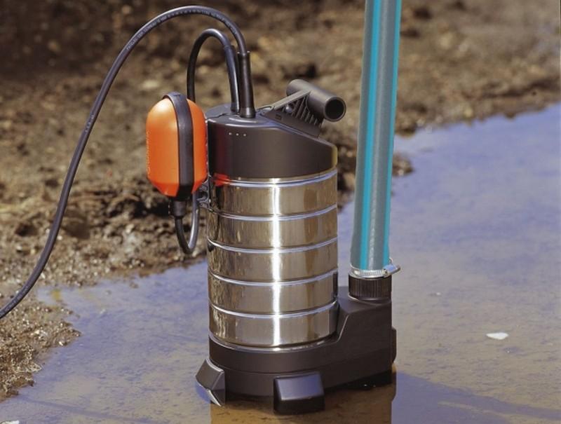 насосы дренажные погружные для грязной воды фото
