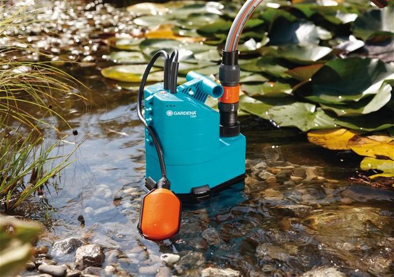 устройство дренажного насоса для грязной воды фото