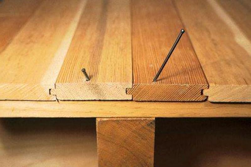 деревянный пол на лагах фото