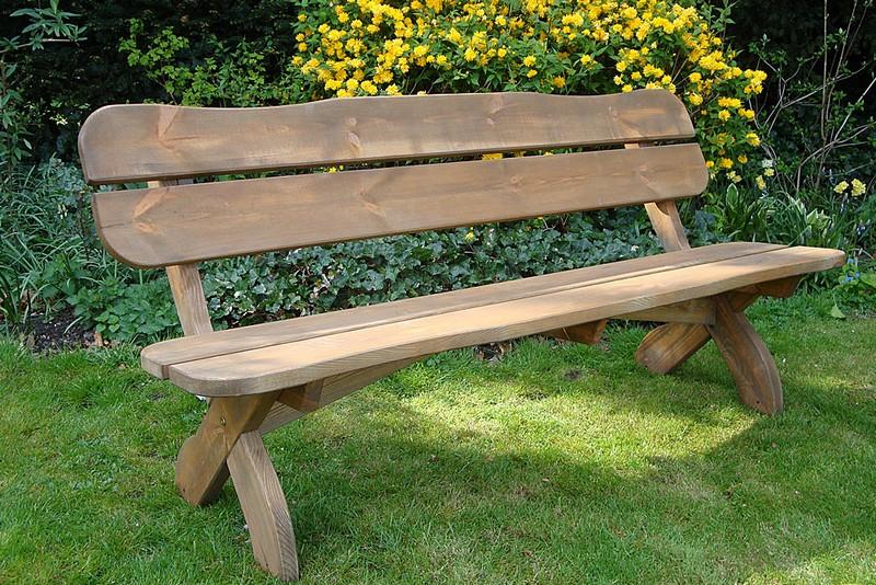 как сделать садовую скамейку своими руками фото