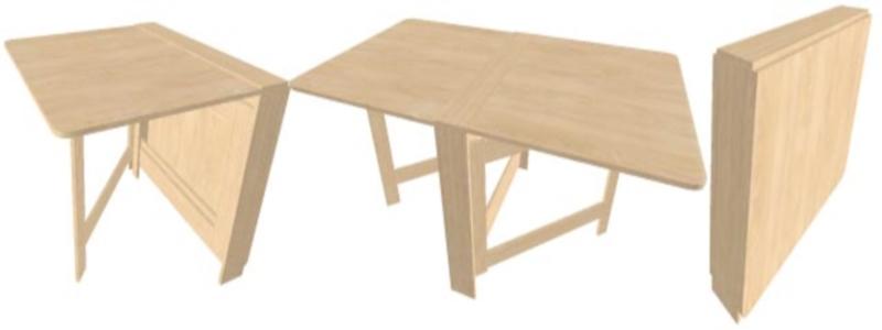 Складной стол своими руками: как сделать для дачи