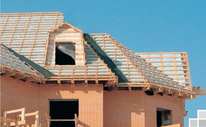 крыша из металлочерепицы фото