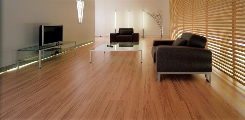ламинат на деревянный пол фото