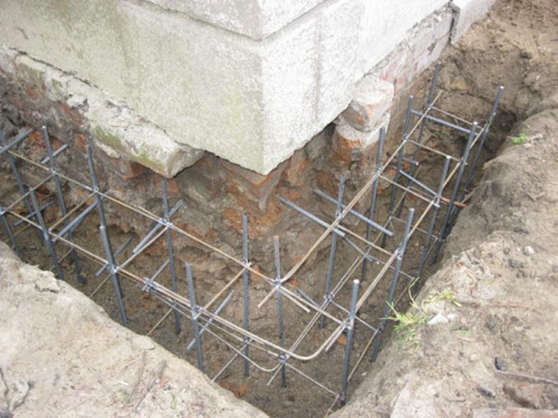 реконструкция фундамента дачного дома фото