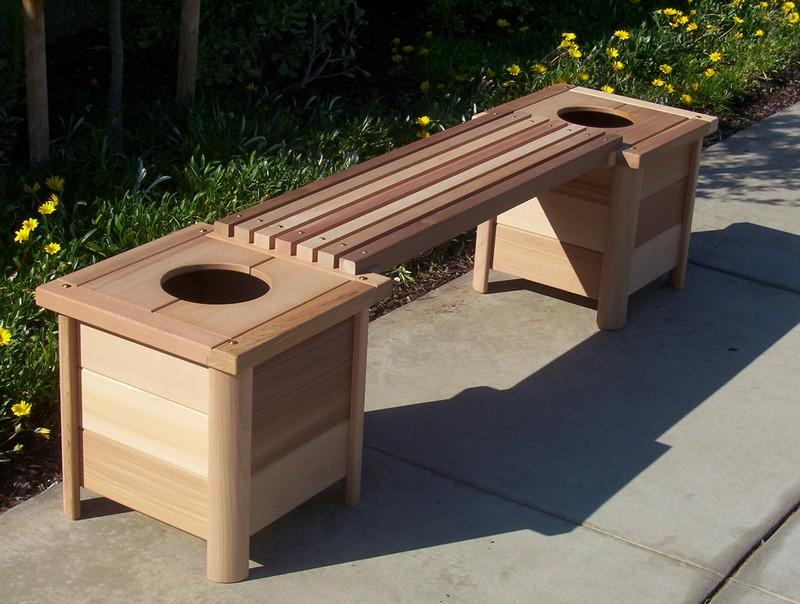 садовые деревянные скамейки фото