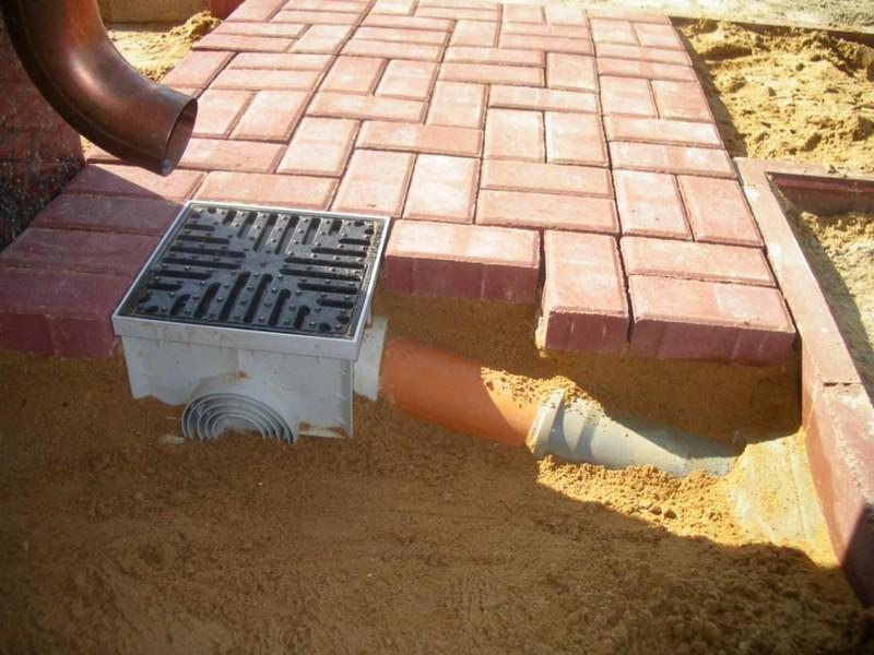 система дождевой канализации фото
